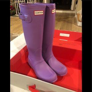 Hunter Original Tall Waterproof Rain Boots Sz 7